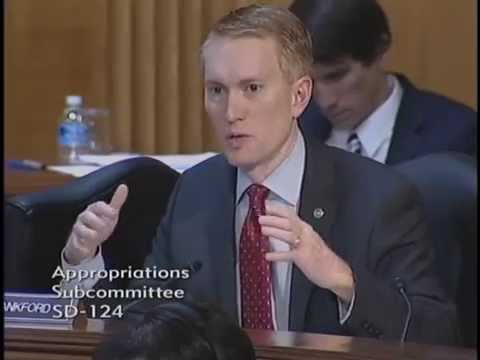 Senator Lankford Questions Education Secretary Arne Duncan at an Appropriations Hearing