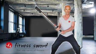 fitness sword - achte auf die Sicherheitshinweise!