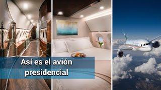 """Así era viajar en el avión presidencial """"José María Morelos"""""""