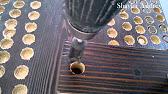 Я Мастер монтаж декоративных балок из дерева на потолок - YouTube