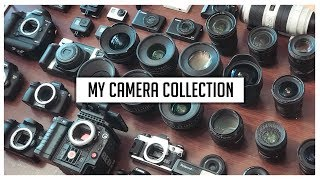 The Craziest Camera Collection of 2018 • Sawyer Hartman