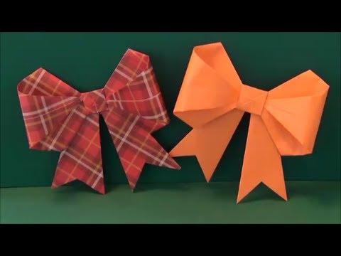 紙 折り紙:リボン 折り紙 折り方-youtube.com