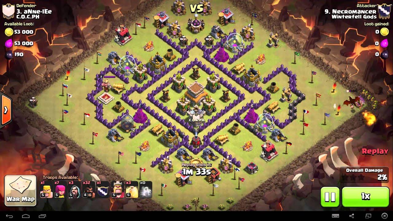 clash of clans necromancer