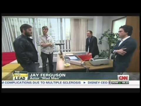 "Life on the set of ""Mad Men"" Jay Ferguson Aaron Stanton Ben Feldman Season 6 Preview (April 8, 2013)"