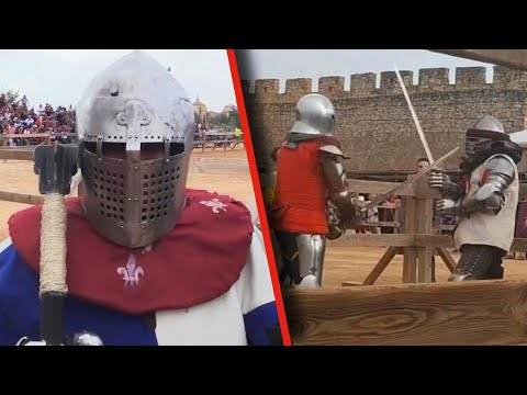 These Knights Faced Off in a Medieval Competition