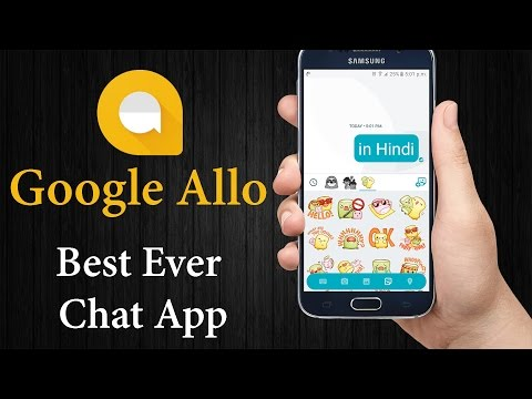 #DA21 Hindi - Google Allo chat app, What's new? Private mode! Assistant!