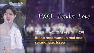 EXO - Tender Love Lyrics Han / Rom