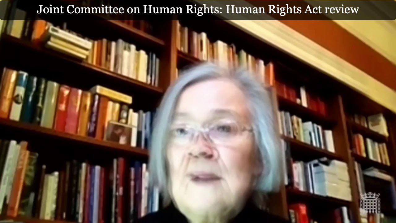 Human Rights Joint Committee: Dean Russell MP Speaks To Baroness Hale On Human Rights Act