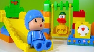 Repeat youtube video Pocoyo Park NEW Block Labo World Block Bandai - Juguetes de Pocoyo