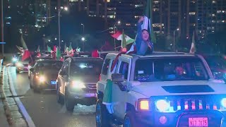 Mexican Independence Day Celebrations Cause Downtown Gridlock