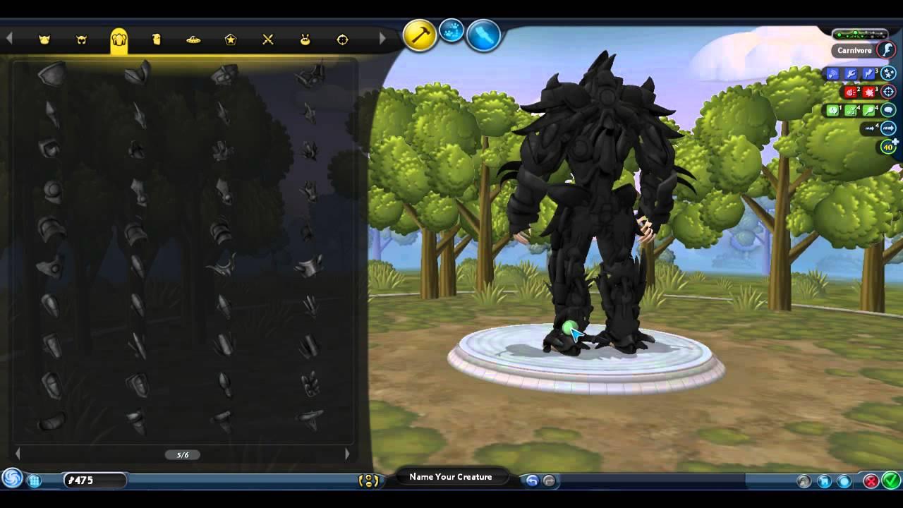 spore royal knight titan youtube