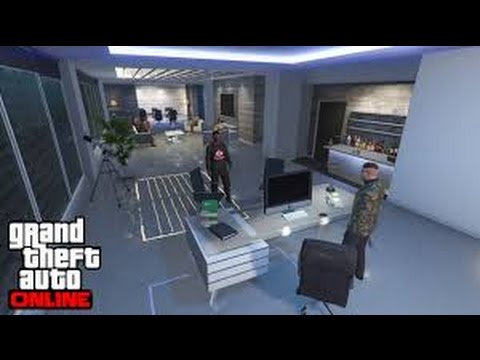 modifier son bureau de pdg gratuitement gta 5 youtube. Black Bedroom Furniture Sets. Home Design Ideas