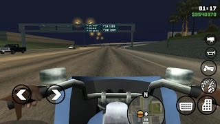GTA SA Android / IOS Controllable Vehicle Camera Touch Version