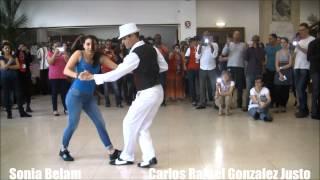Carlos Rafael Gonzalez Justo et Sonia Belam au Barrio Mio le 21 mars 2014