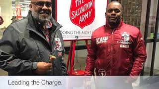 Fort Lee (VA) Alumni Chapter: Salvation Army Bell Ringing 2018