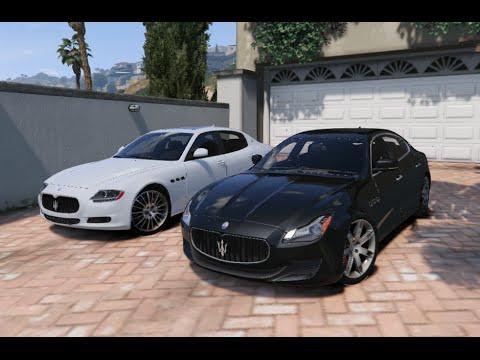 GTA V | MASERATI QUATTROPORTE GTS 2013 VS. GTS 2011 | GTA 5 MOD