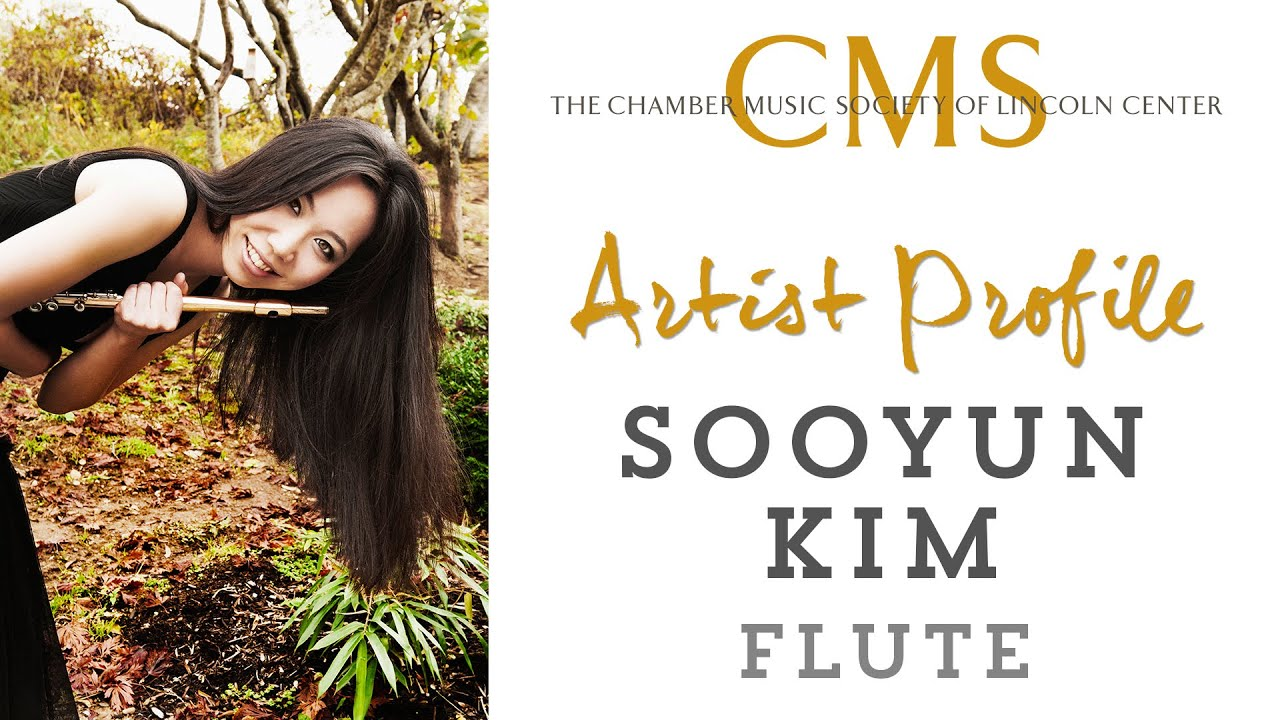 Sooyun Kim, flute - April 2012 CMS Artist Profile