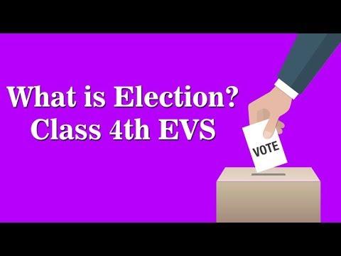 CBSE Class 4 EVS   Elections   NCERT Solution   CBSE Syllabus   ICSE