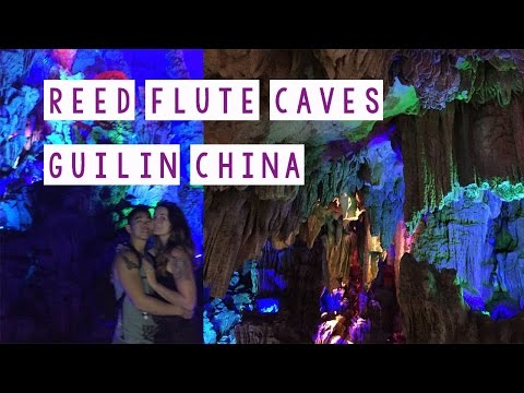 Reed Flute Caves Guilin China
