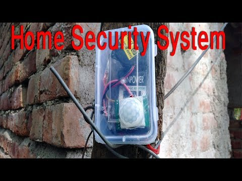 DIY Home Security System.