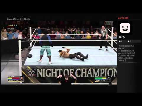 Elijah  and Seth Rollins vs The Ascension