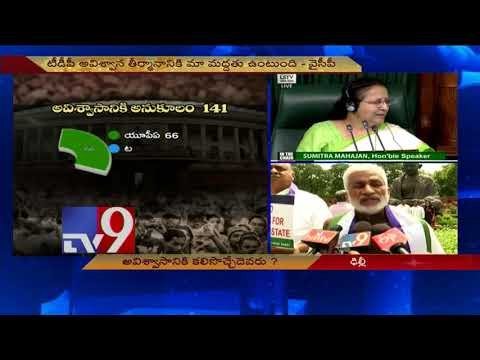 YCP MPs protest outside Parliament over AP special status - TV9