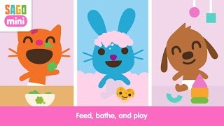 JUST RELEASED! Sago Mini Babies Part 2 - Best iPad app demo for kids