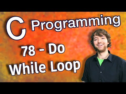C Programming Tutorial 78 - Do While Loop thumbnail