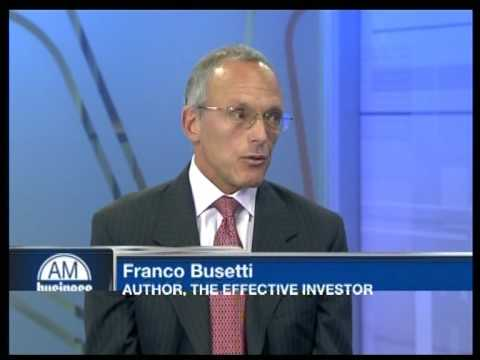 Business AM Interview: Franco Busetti, The Effective Investor