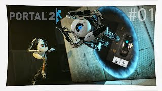 Der BESTE Start ever xD - Portal 2 Co-Op