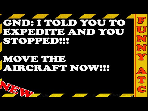 Air Traffic Control Conversations: EXPEDITE THE RUNWAY!!!