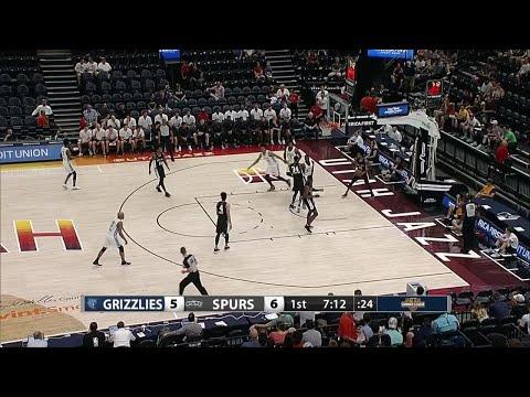 1st Quarter, One Box Video: San Antonio Spurs vs. Memphis Grizzlies