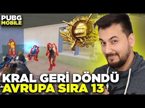 Download KRAL GERİ DÖNDÜ!! AVRUPA SIRA 13 GELİYORUZ!! / PUBG MOBILE