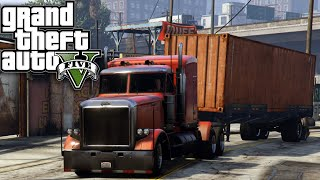 GTA 5 SP #8 - Life of... A Truck Driver