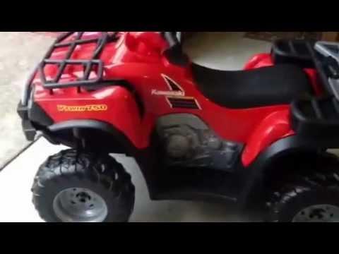 Power Wheels By Fischer Price Kawasaki Brute Force Kids 4