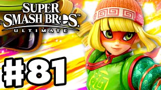 Min Min from ARMS! - Super Smash Bros Ultimate - Gameplay Walkthrough Part 81 (Nintendo Switch)