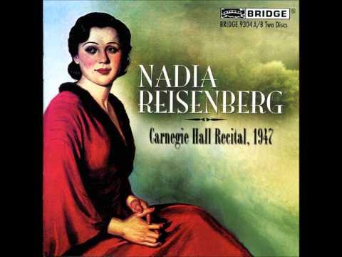 Nadia Reisenberg : Scriabine, Etudes Op.8 & Op.42