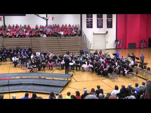 """Harlem High School Concert Band """"The Tell Tale Heart"""""""