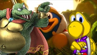 TAKE MY MONEY, NINTENDO! ll Koops Reacts to King K. Rool in Smash