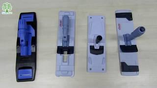 Чем лучше мыть пол! Удобные держатели для мопов! Обзор флаундеров EUROMOP и Vileda