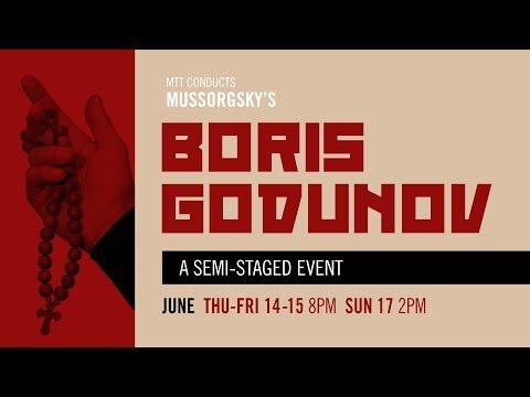 "MTT Conducts Mussorgsky's ""Boris Godunov"""
