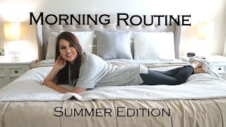 MORNING ROUTINE | WORK AT HOME MOM  | SUMMER 2018