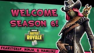 Fortnite - Welcome Season 6 ft. FearItSelf, Ninja, & TSM_Hamlinz! - September 2018   DrLupo