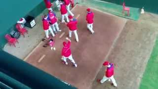 What the Phillies do during a rain delay