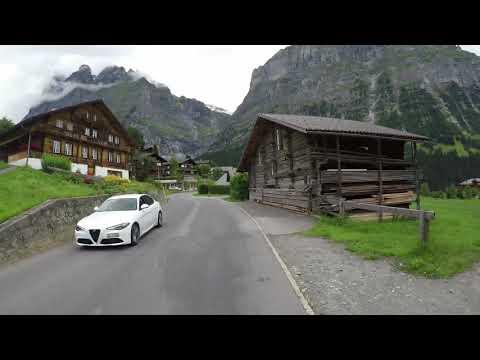 4K - Grosse Scheidegg From Grindelwald - Indoor Cycling Training