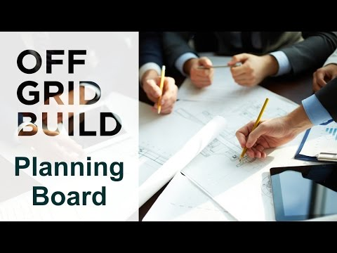 Starting a Build - Planning Board Meeting