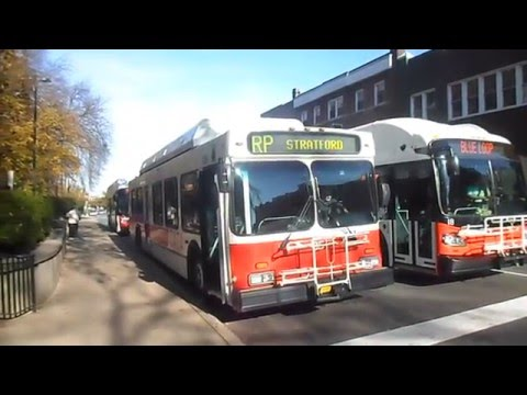 CATA Bus (State College, PA): Bus Observations (November 2013) - Part 1/2