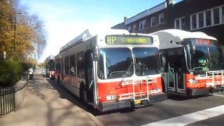 CATA (State College): Buses at Penn State University / Downtown State College