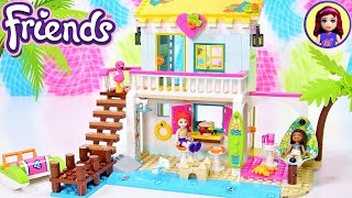 Andrea finally has a house!!! Kind of. Lego Friends build & review