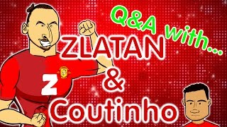 ZLATAN Q&A (and some little dweeb called Coutinho) Man Utd vs Liverpool preview 2017